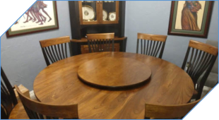 36 Inch Lazy Susan for 72 Inch Table
