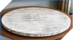 Distressed Farmhouse Style Lazy Susan