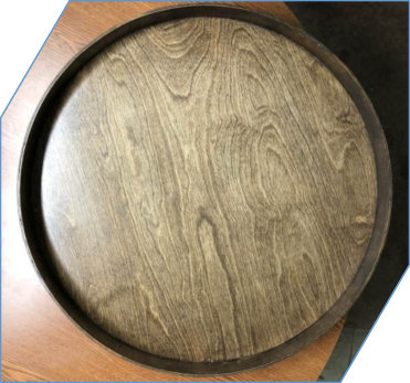Edge Lip Lazy Susan