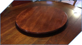 Large Matching Lazy Susan with Lines