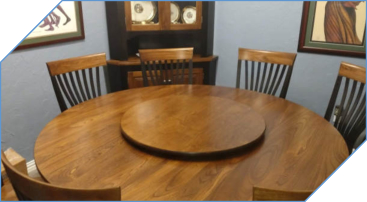 Lazy Susan Matching Table