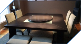 Low Profile Style Lazy Susan