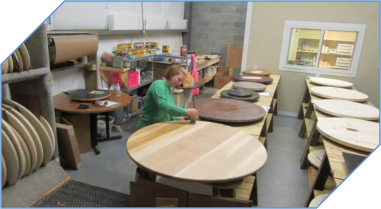 Wood Lazy Susan Work Shop